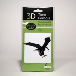 3D Papiermodell - Adler