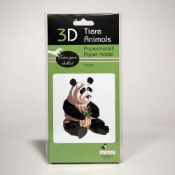 3D Papiermodell - Panda