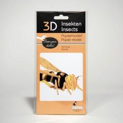 3D Papiermodell - Hornisse