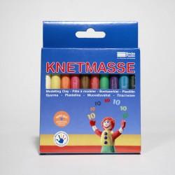 Knetmasse - 10 Farben